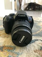 Canon DSLR EOS Rebel T6 with EF-S 18-55mm Zoom Great Condition!