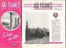 AIR FRANCE Echos de l'air # 41 1950 Grèce Turquie
