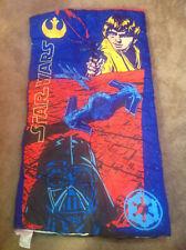 "Star Wars - Darth Vader - Luke Skywalker Sleeping Bag, 30"" x 57""  Vintage"