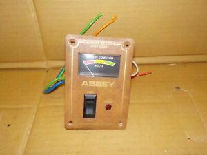 Abbey Caravan Battery Status & Switch Panel - CDP2A-DD-19