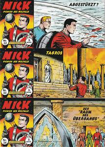 Nick Piccolo 3. Serie, 3er Set mit den Heften Nr. 32-34