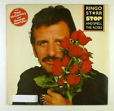 """12"""" LP - Ringo Starr - Stop And Smell The Roses - B4357 - washed & cleaned"""