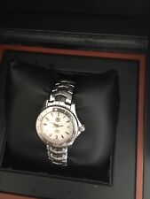 Tag Heuer Link WJF1411 Stainless steel Ladies watch with box and papers