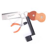 Accessoires de guitare kit outil Set corde enrouleur goupille cheville pullTRFR