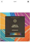 Organic Box of Green and Blacks Connoisser Chocolate Assortment