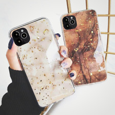 Bling Marble Case For iPhone SE 2 7 8 Plus XR XS 11 Pro Max Soft Phone Cover