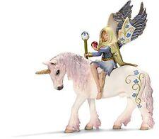 Schleich Bilara Figure Bayala Fairy on Unicorn Horse Figurine Kids Children Toy