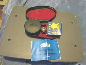 Suntar Conversion  Lens Set Yashica Electra 35 Camera Wide Angle 1:4 Ex. Condit.