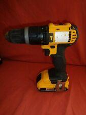 DEWALT DCD785 18V XR Combi Hammer Drill Driver + 18v 2.0Ah Battery