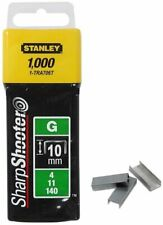 Stanley 1-TRA706T 1000 10mm Heavy Duty G Staples - Silver