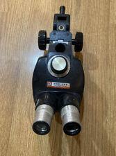 Bausch Amp Lomb 07x 3x Microscope Head With 2x 10x Wf Eyepieces Holder