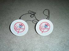 New York Yankees 2 Mini Speakers Used With  iPod, Iphone, Stereo Audio Devices