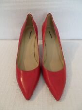 NEW J.CREW VALENTINA PUMPS, 49073, SIZE 8, RED