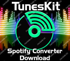 TUNESKIT SPOTIFY MUSIC CONVERTER SOFTWARE DOWNLOAD WINDOWS XP, VISTA, 7, 8, & 10
