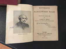 Hawthorne's Tanglewood Tales Edited for School Use by Robert H. Beggs