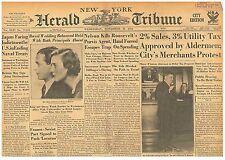 Original Newspaper 'BABY FACE' Nelson Kills Purvis Agent, Escapes Trap November
