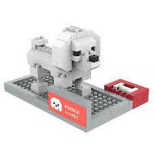 Poodle - ANSBRICK BLOCK PET.4. Building, Learning - Nanoblock compatible