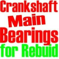 MAIN BEARINGS 6 CYLINDER DODGE 1934-1959, PLYMOUTH 6 CYLINDER 1942-1959 STD