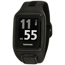 TomTom Spark 3 Cardio GPS Fitness Smart Watch - Black - Large