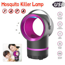 Electric Mosquito Insect Killer Zapper LED Light Fly Bug Trap Pest Control Lamp