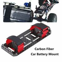 Carbon Fiber Battery Mounting Plate Tray for 1/10 Crawler RC Car Axial SCX10 sg