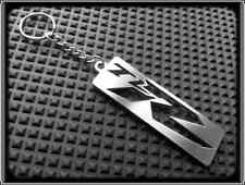 KEYRING for SUZUKI TL1000R TL TLR - STAINLESS STEEL - HAND MADE - CHAIN LOOP FOB
