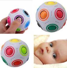 Fidget Ball Rainbow Magic Puzzle Rubiks Cube Fidget Toy Stress Relief Toys LC