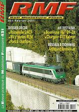 RMF N° 431 PASSERELLE SNCF/BV 2 PORTES PLM/PARC A CHARBON/BOURREUSE P&T 09-3X