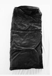 ANTIQUE FRENCH VICTORIAN BLACK SILK BROCADE SHAWL SOLD AS FABRIC 1 YD X 1 YD