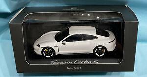 Minichamps WAP 0207800L Porsche Taycan Turbo S neuf boite
