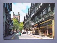 R&L Postcard: St Werburgh Street Chester 1970s, Salmon, VW Van LT28/LT35