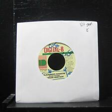 "Morgan Heritage - Blackmans Paradise 7"" VG+ Vinyl 45 Digital B Jamaica 2000"