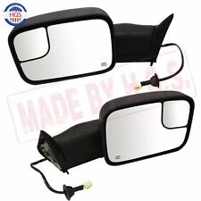 For 98-01 Dodge Ram 1500 98-02 2500 3500 Flip Up Power+Heated Side Towing Mirror