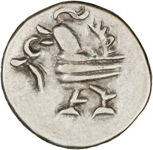 Cambodia 1847 (undated) 1/8 Tical (Fuang) EF