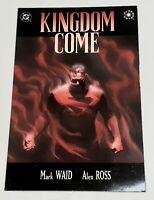 KINGDOM COME graphic novel # four Waid Ross DC Elseworlds Excellent unread 1996