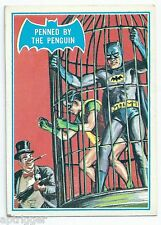 1966 Topps Batman Blue Bat with Bat Cowl Back (16B) Penned By The Penguin