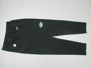 New York Jets Nike Athletic Pants Men's Black Dri-Fit Used Multiple Sizes