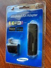 NEW! Samsung WIS09ABGN USB Port WIRELESS LINKSTICK ADAPTER  LAN 2009 Wifi Wi-fi