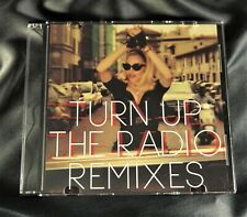 MADONNA 4-TRACK TURN UP THE RADIO REMIXES PROMO CD RARE USA 2012 INTERSCOPE