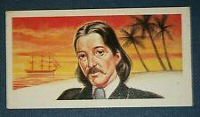 Robert Louis Stevenson   Author    Illustrated Card