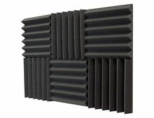 Sound Dampening Foam, 2 Inch Thick, 1 ft by 1 ft, 6 pack