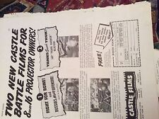 r7 ephemera 1944 ww2 castle films fight for rome yanks smash truk
