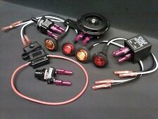 Jeep Turn Signal Kit - Horn LED Lights Toggle Switch Button Fuse Rock Crawler