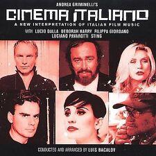 ANDREA GRIMINELLI'S CINEMA ITALIANO - 14 TRACK MUSIC CD - NEW SEALED - F895