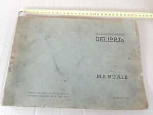 MANUALE DELL'ORTO 1962 TARATURE CARBURATORI VESPA 98 - GS 160 MA SI TA