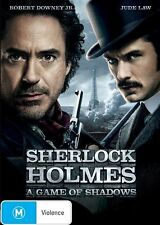 Sherlock Holmes - A Game Of Shadows (DVD, 2012) New ExRetail Stock Genuine D65