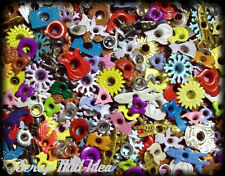 EYELETS - Mixed BULK. 50Pcs. Scrapbooking / Cards / Paper Craft. HUGE Assortment
