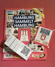 Panini Hamburg sammelt Hamburg 1 - über 190 verschiedene Sticker + Album+ Tüte