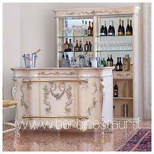 Mobile Bar Stile Barocco Moderno Di Lusso Made In Italy Personalizzabile
