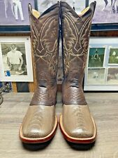 LOS ALTOS EXOTIC OSTRICH LEG VAMP 11D MENS COWBOY BOOTS IMMACULATE CONDITION